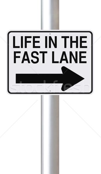 Life in the Fast Lane  Stock photo © lorenzodelacosta