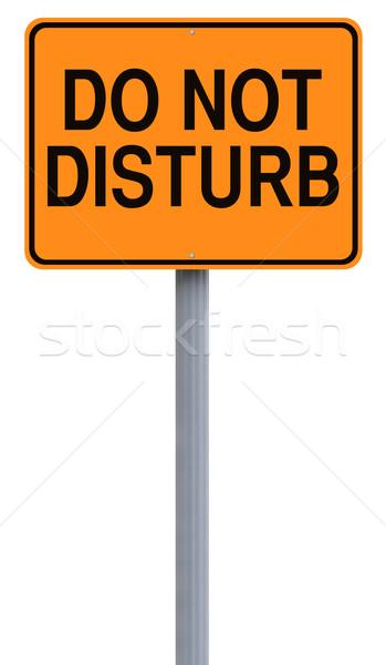 Do Not Disturb  Stock photo © lorenzodelacosta