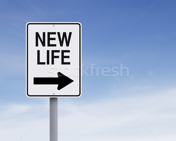 New Life This Way  Stock photo © lorenzodelacosta