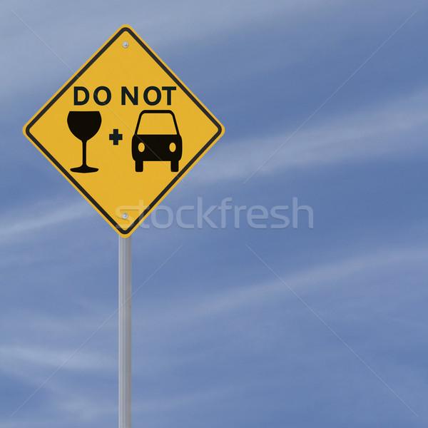 Don't Drink and Drive! Stock photo © lorenzodelacosta