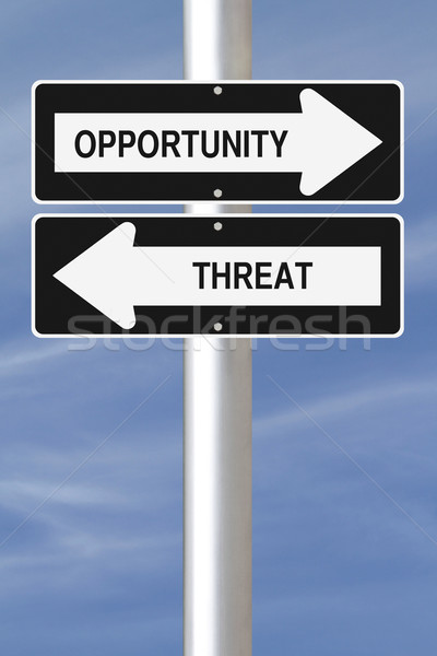 Opportunity and Threat  Stock photo © lorenzodelacosta