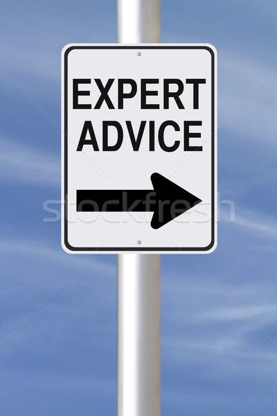 Expert Advice This Way  Stock photo © lorenzodelacosta