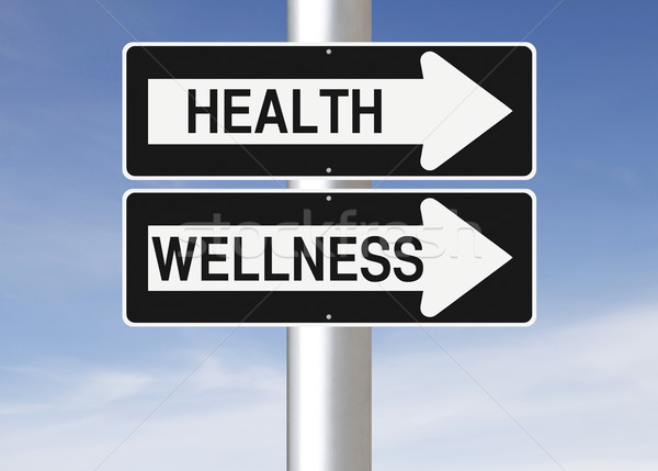 This Way to Health and Wellness  Stock photo © lorenzodelacosta