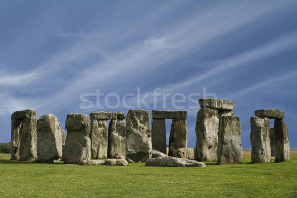 Stock photo: The Stonehenge