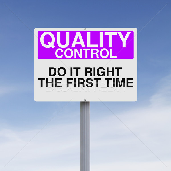 Quality Control  Stock photo © lorenzodelacosta