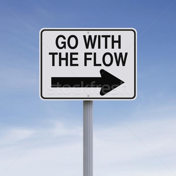 Go With The Flow  Stock photo © lorenzodelacosta