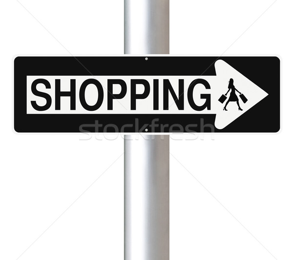 Shopping This Way  Stock photo © lorenzodelacosta