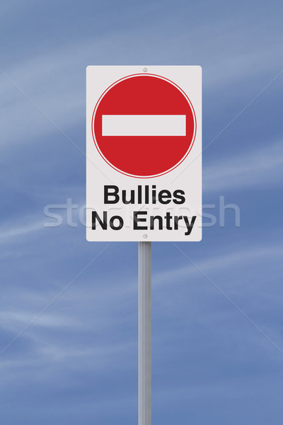 Anti-Bullying Road Sign  Stock photo © lorenzodelacosta