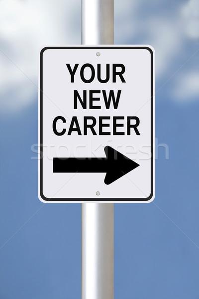 Your New Career This Way  Stock photo © lorenzodelacosta