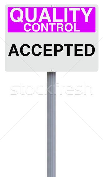 Accepted  Stock photo © lorenzodelacosta