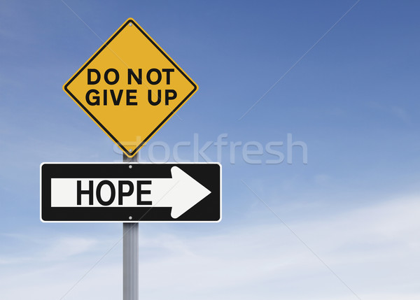 There Is Always Hope  Stock photo © lorenzodelacosta