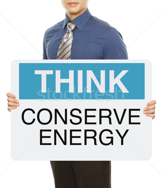 Conserve Energy  Stock photo © lorenzodelacosta