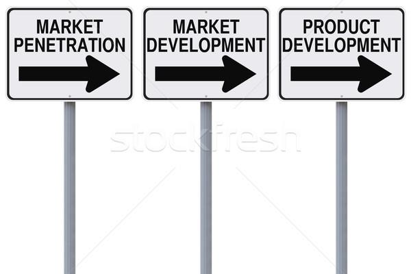 Business Strategy Options  Stock photo © lorenzodelacosta
