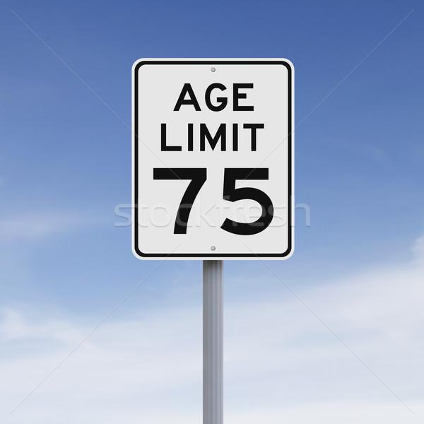 Age Seventy Five  Stock photo © lorenzodelacosta