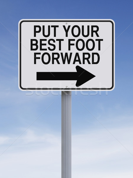 Put Your Best Foot Forward  Stock photo © lorenzodelacosta