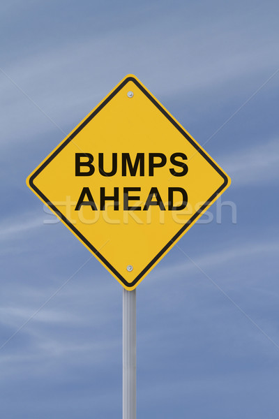 Bumps Ahead Stock photo © lorenzodelacosta