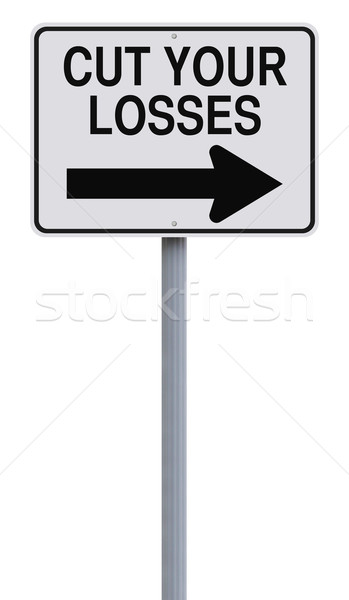 Cut Your Losses  Stock photo © lorenzodelacosta