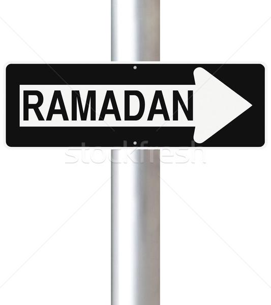 Ramadan This Way   Stock photo © lorenzodelacosta