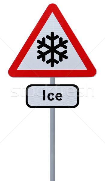 Risk of Ice Ahead  Stock photo © lorenzodelacosta