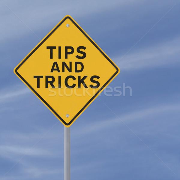 Tips And Tricks  Stock photo © lorenzodelacosta