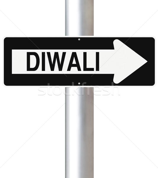 Diwali This Way   Stock photo © lorenzodelacosta