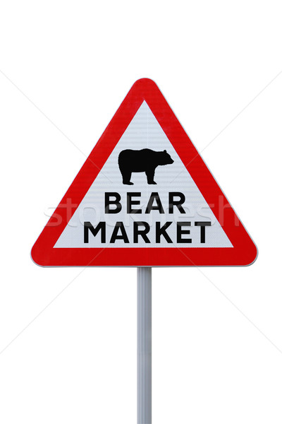 Bear Market Warning Sign Stock photo © lorenzodelacosta