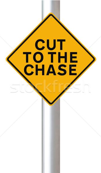 Cut to the Chase  Stock photo © lorenzodelacosta
