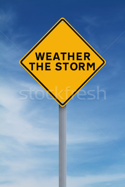 Weather the Storm  Stock photo © lorenzodelacosta