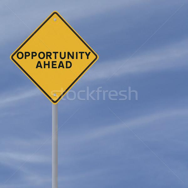 Opportunity Ahead Stock photo © lorenzodelacosta