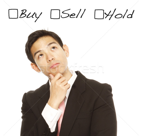 купить продавать человека бизнеса Сток-фото © lorenzodelacosta