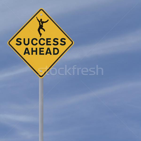 Success Ahead  Stock photo © lorenzodelacosta