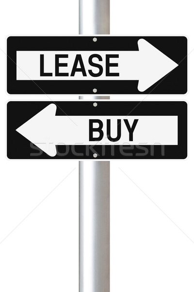 Lease or Buy  Stock photo © lorenzodelacosta