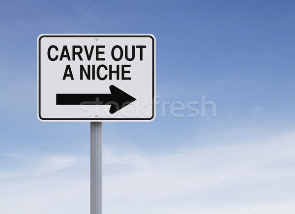 Carve Out A Niche  Stock photo © lorenzodelacosta