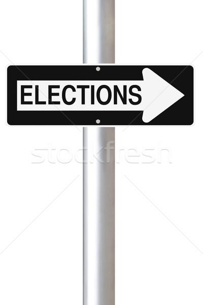 Elections This Way  Stock photo © lorenzodelacosta