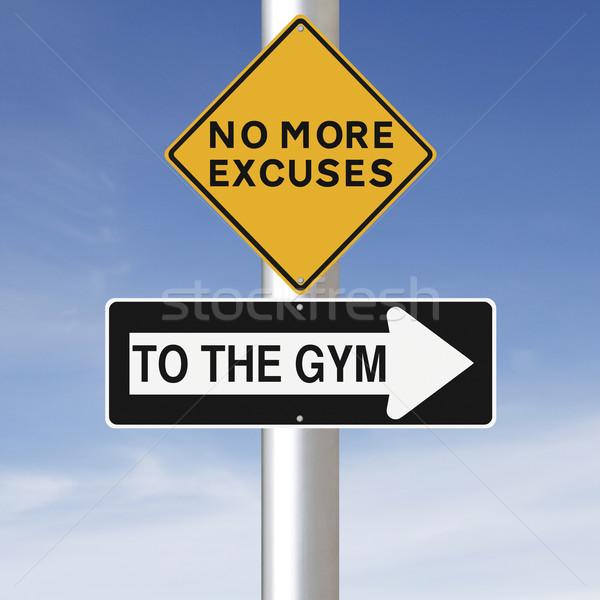 To The Gym  Stock photo © lorenzodelacosta