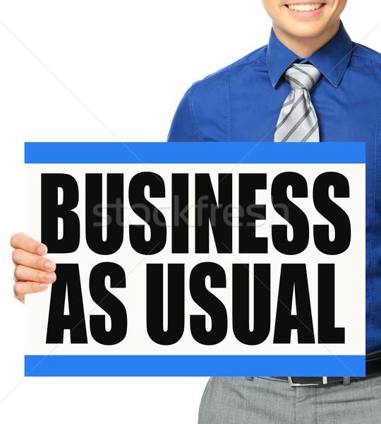 Business As Usual  Stock photo © lorenzodelacosta