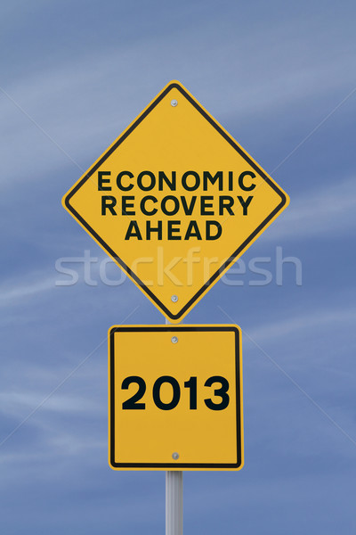 Economic Recovery Ahead! Stock photo © lorenzodelacosta