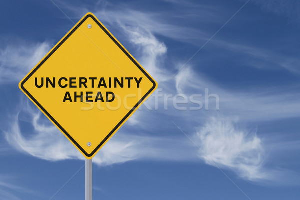 Uncertainty Ahead  Stock photo © lorenzodelacosta