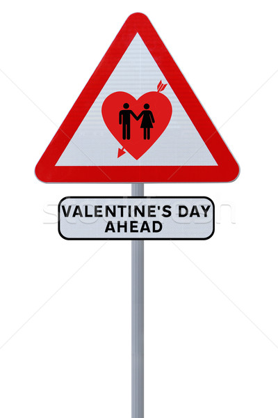 Valentine's Day Ahead  Stock photo © lorenzodelacosta