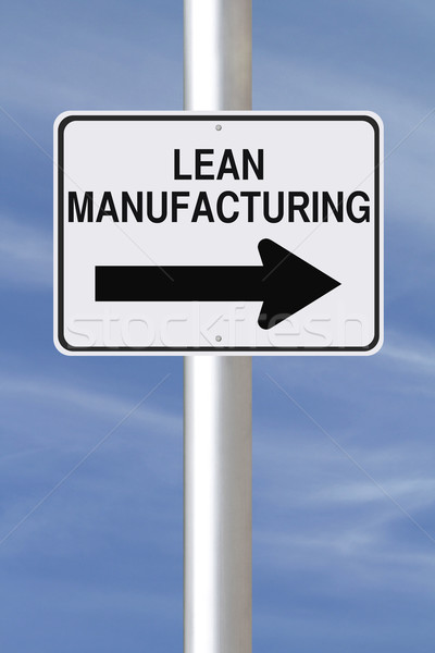 Lean Manufacturing Stock photo © lorenzodelacosta