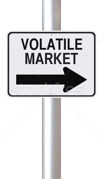 Volatile Market This Way  Stock photo © lorenzodelacosta
