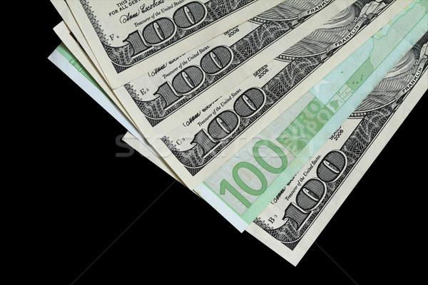 A Euro Among Dollars Stock photo © lorenzodelacosta