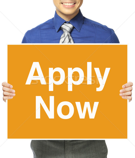Apply Now!  Stock photo © lorenzodelacosta