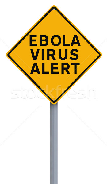 Ebola Virus Alert  Stock photo © lorenzodelacosta