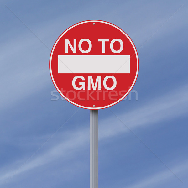 No to GMO  Stock photo © lorenzodelacosta
