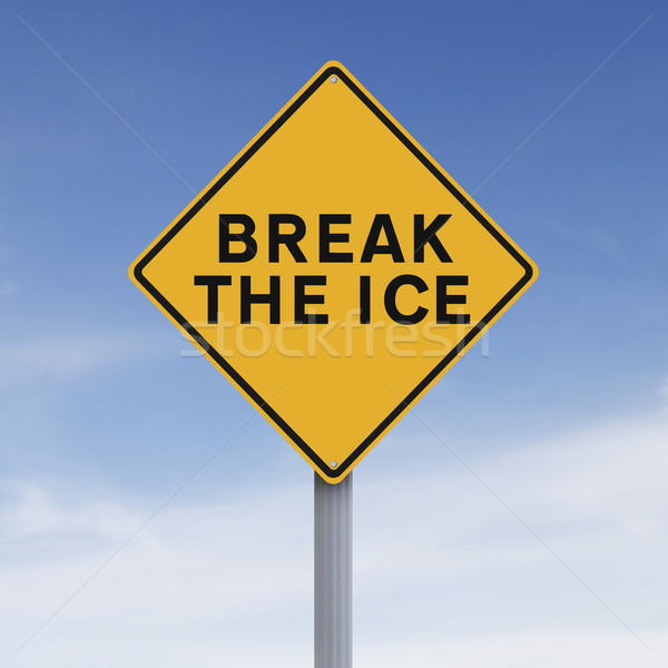 Break The Ice  Stock photo © lorenzodelacosta