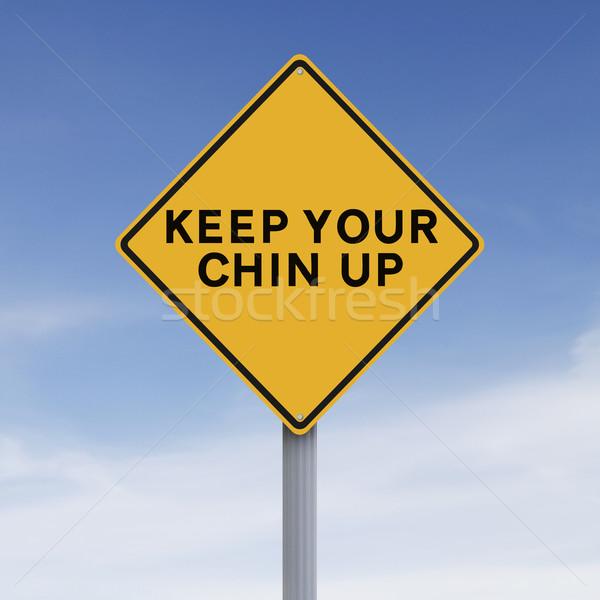 Keep Your Chin Up  Stock photo © lorenzodelacosta