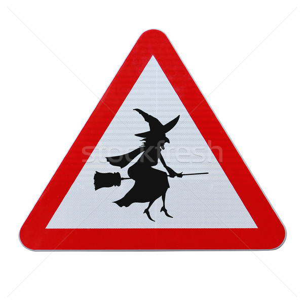 Beware of Flying Witches  Stock photo © lorenzodelacosta