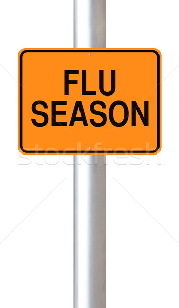 Flu Season  Stock photo © lorenzodelacosta