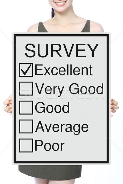 Customer Survey  Stock photo © lorenzodelacosta